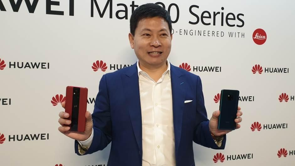 Ričard Ju, Huawei CEO