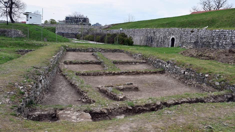 kastel, arheologija