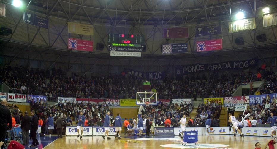 Cibona hala Dražen Petrović
