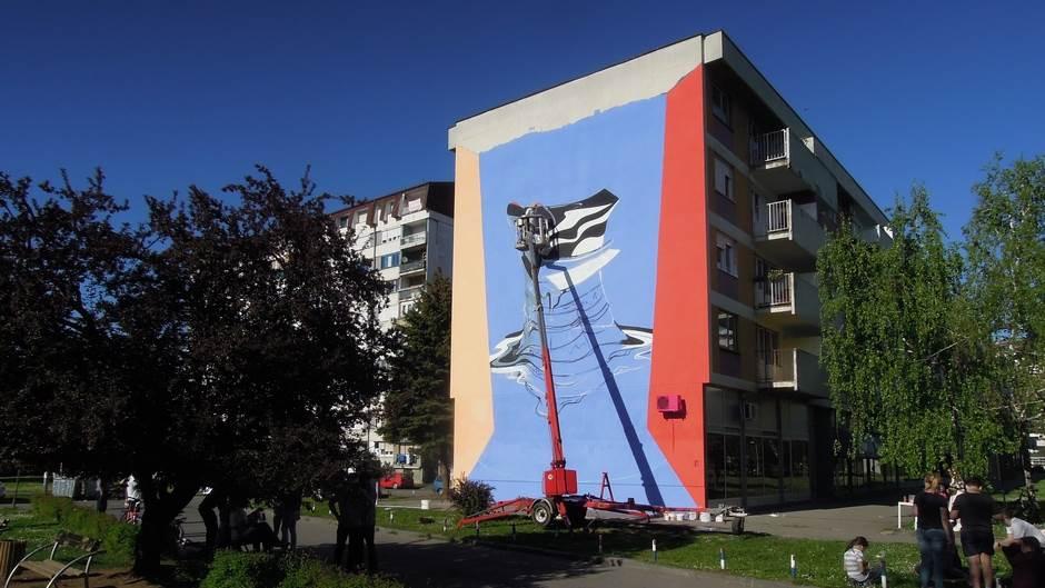 Borik dobija novi mural (FOTO)