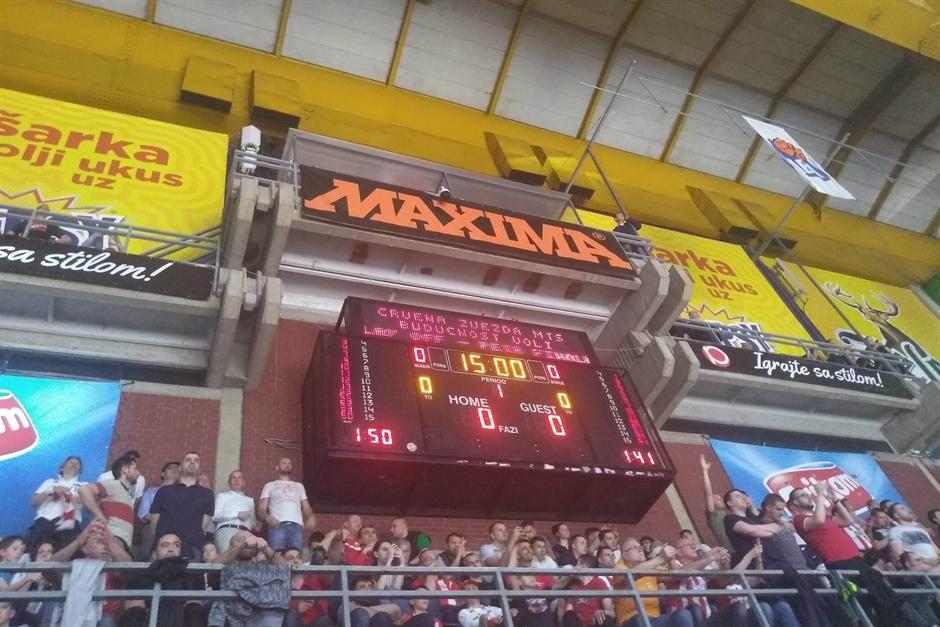 Semafor Pionir ABA finale Crvena zvezda Budućnost