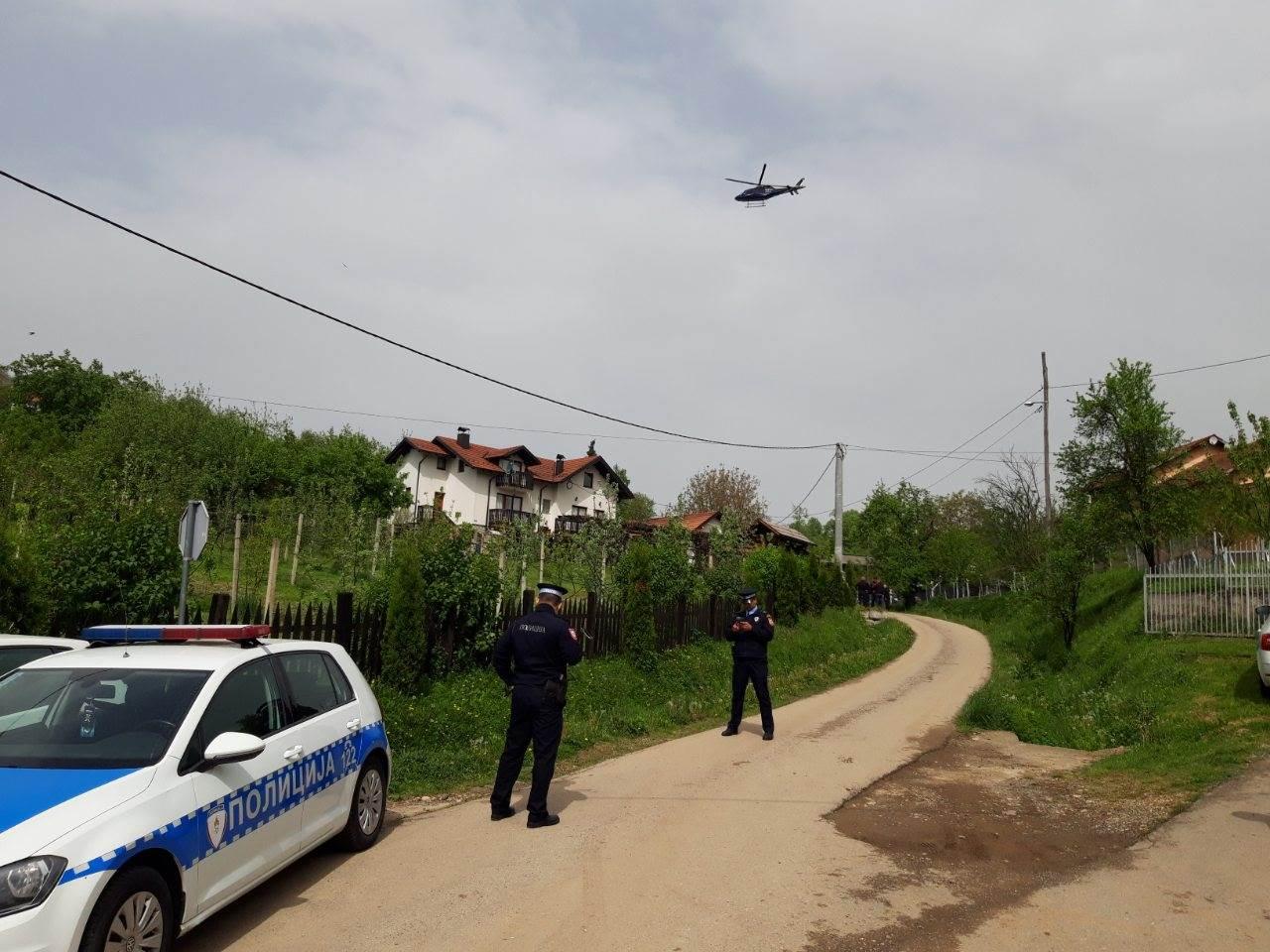 helikopter, milicija