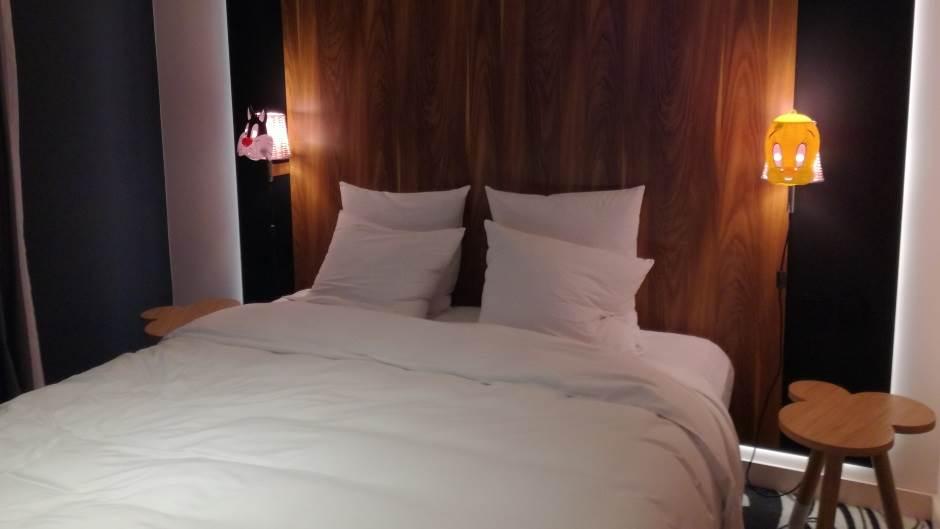 hotel, krevet, hotelska soba