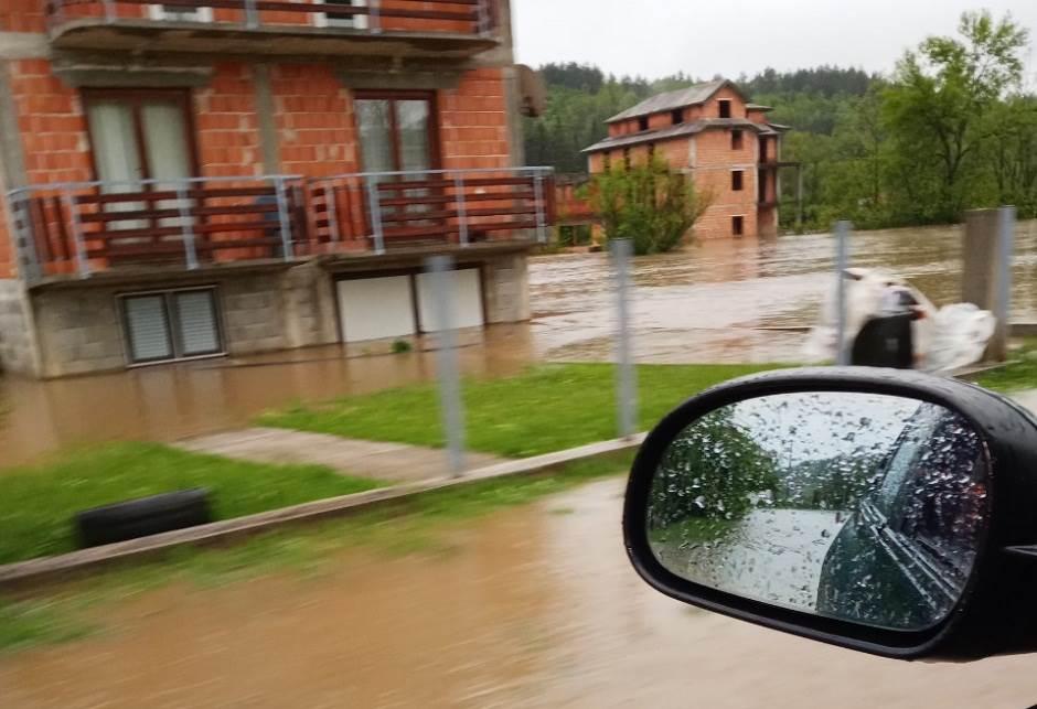 poplava, Čelinac