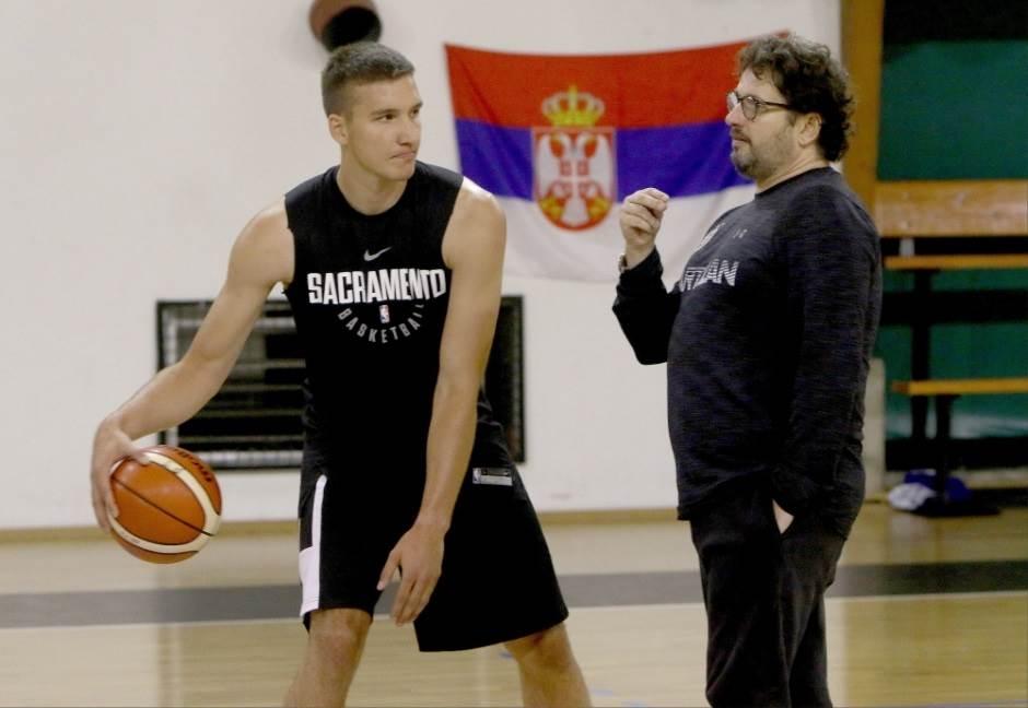 Bogdan i Datome u Partizanu (FOTO)