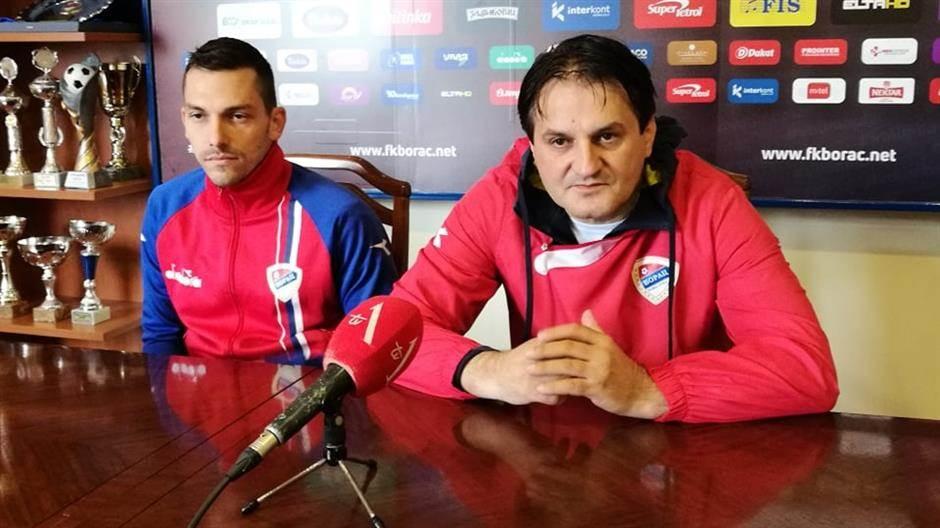 Borac, Miloš Žeravica, Darko Vojvodić