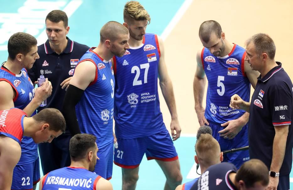 Odbojkaši Srbije: Možemo do finala Lige nacija