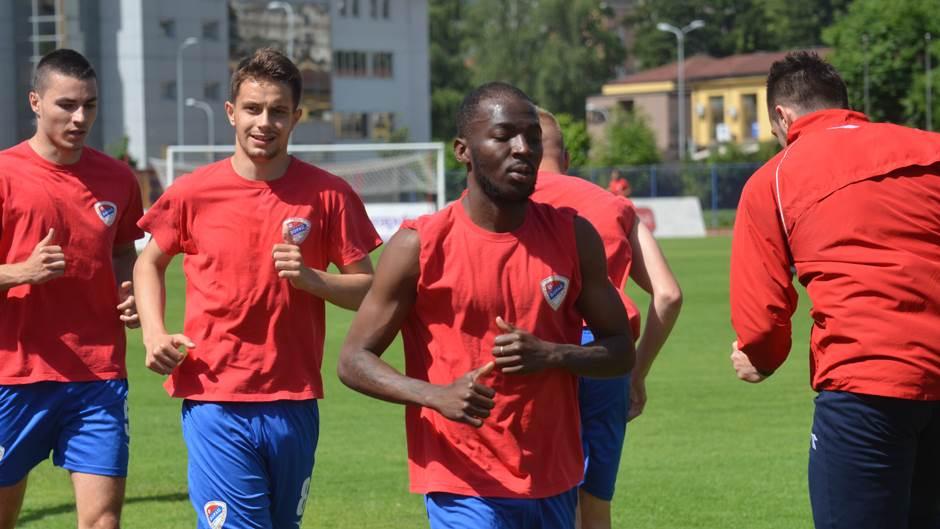 Početak priprema FK Borac, pripreme Borca