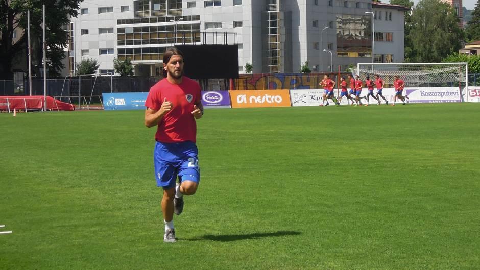 Početak priprema FK Borac, pripreme Borca, Stojan Vranješ
