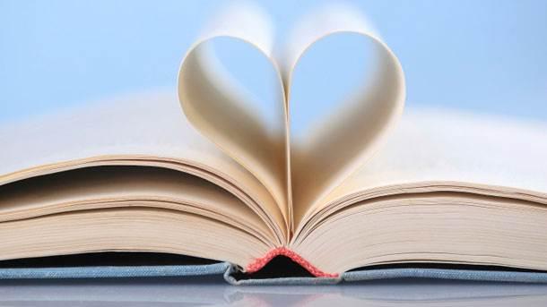 knjiga, ljubav, srce