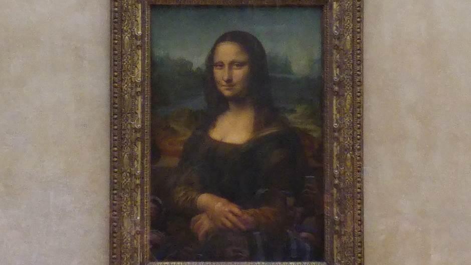 Luvr oživljava Mona Lizu, zavirite iza stakla! (FOTO)