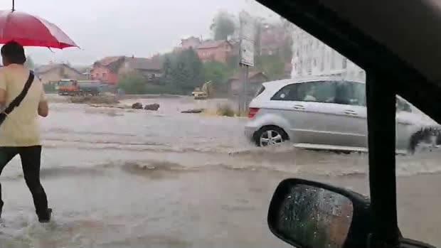 NEVRIJEME: Potop na Laušu (FOTO + VIDEO)