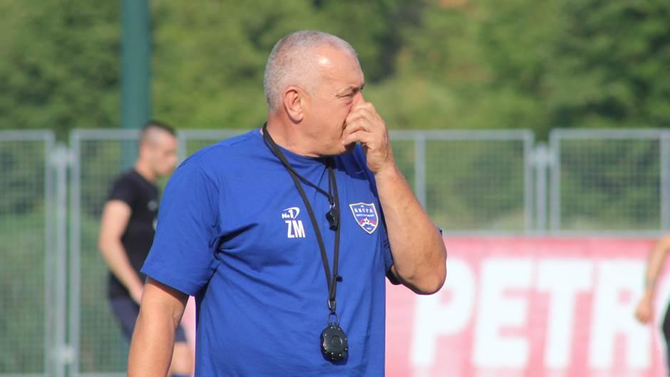 Početak priprema FK Krupa, pripreme Krupe, Zoran Marić