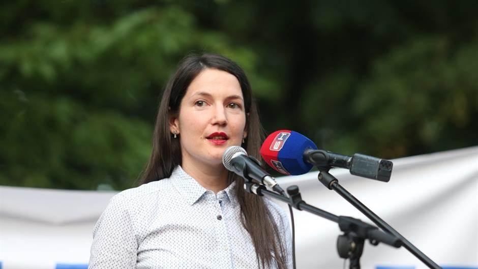 Banjaluka, protest, opozicija, Jelena Trivić
