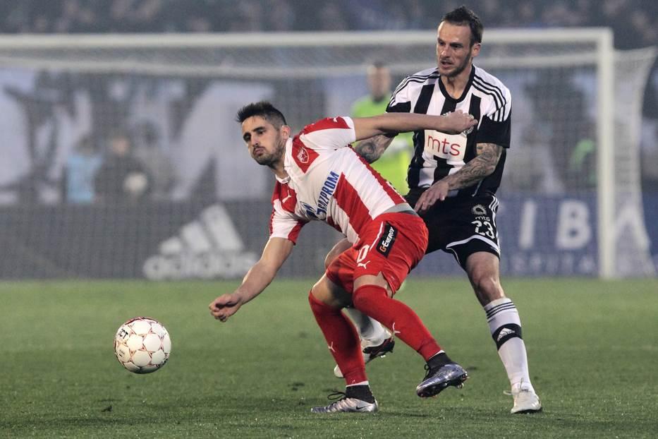 Marko Jovanović u dresu Partizana