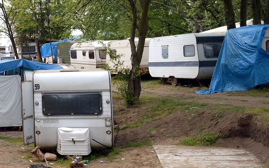 kamp, prikolica, kamper, kamp kućica