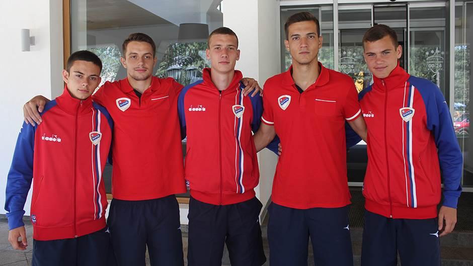David Čavić, Milan Šikanjić, Nikola Turanjanin, Vladimir Arsić, Filip Račić
