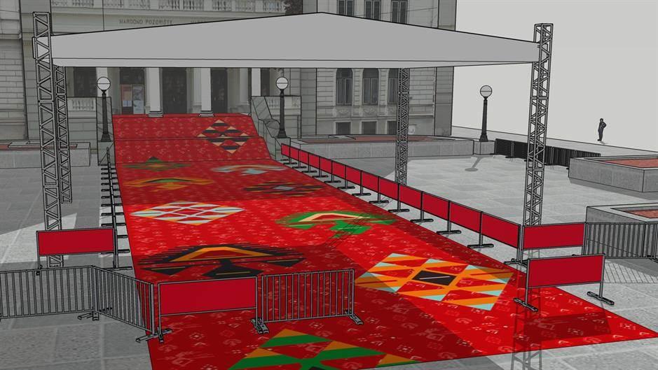 SFF: Umjesto crvenog tepiha bosanski ćilim