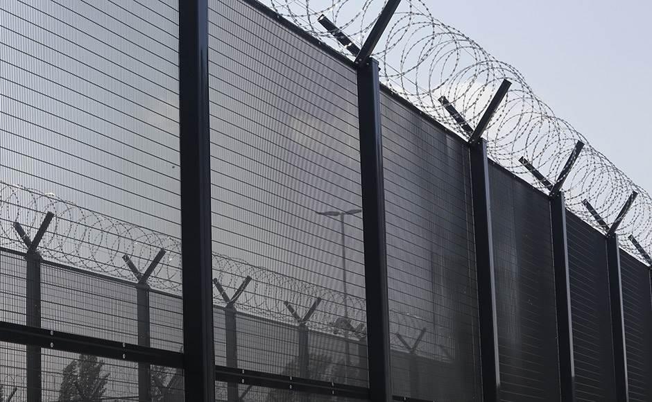 žica, ograda, zatvor, beg, pobegao