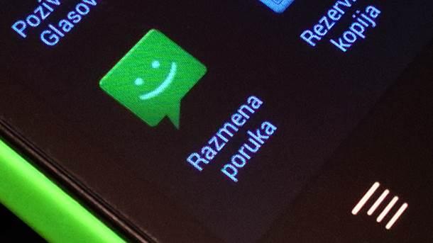 SMS poruke.