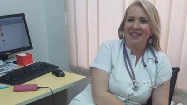 Doktorica Snežana Kutlešić-Stević