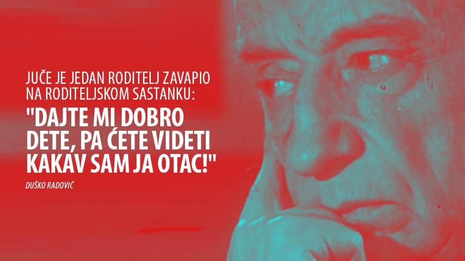 Najlepši citati Duška Radovića