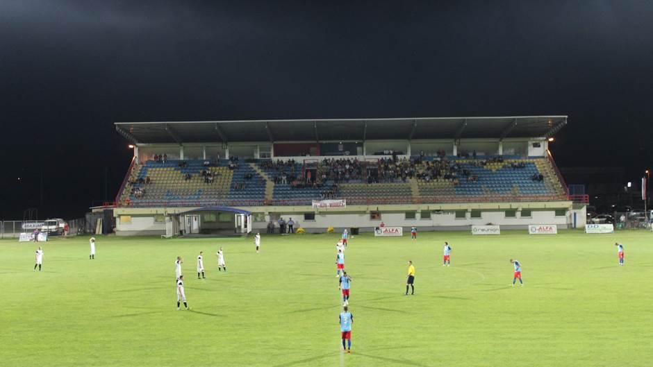 """Tribine stadiona """"Dr Milan Jelić"""" u Modriči"""