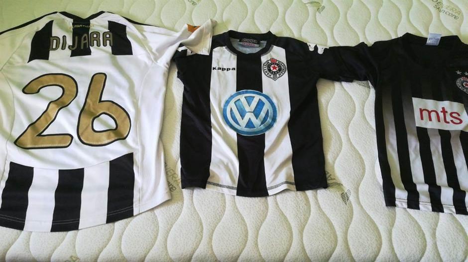 Partizan, dres, dresovi, dres Partizana