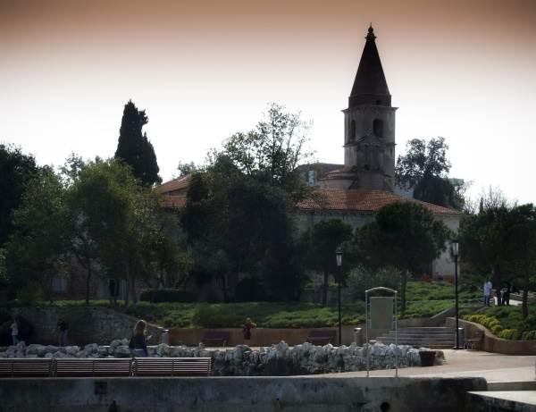 Benediktanski, pa franjevački samostan, a jedno vreme i cementara.