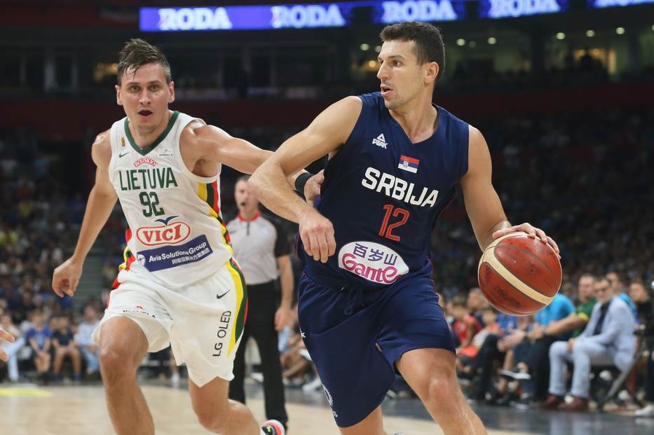 Dragan Milosavljević u reprezentaciji Srbije.