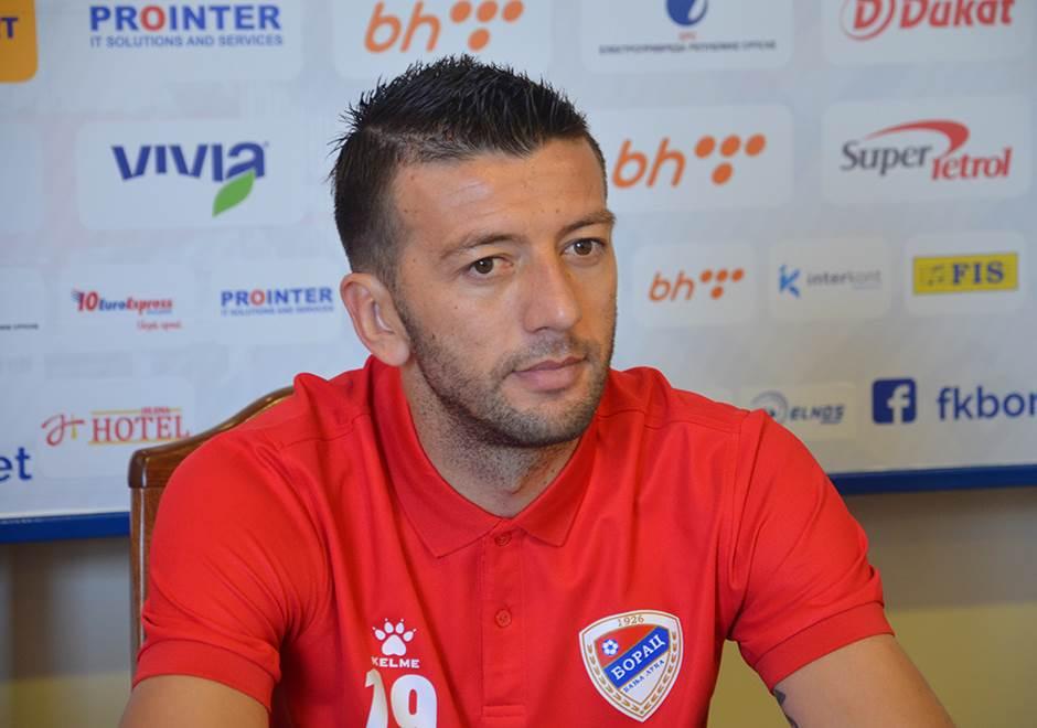 Marko Mirić, Borac