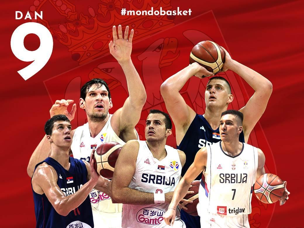 """#Mondobasket: """"Orlovi"""" danas biraju put ka Pekingu"""