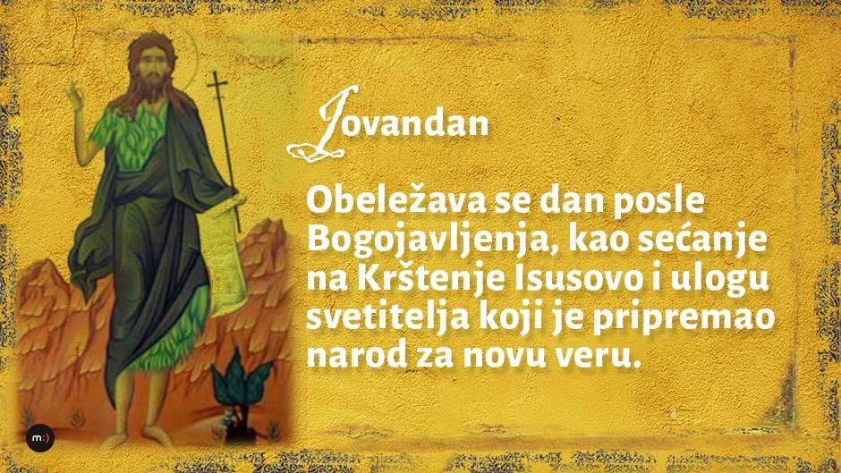 Sveti Jovan Krstitelj: Šta danas valja raditi?