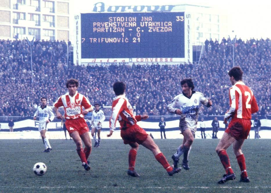 Partizan, Crvena zvezda