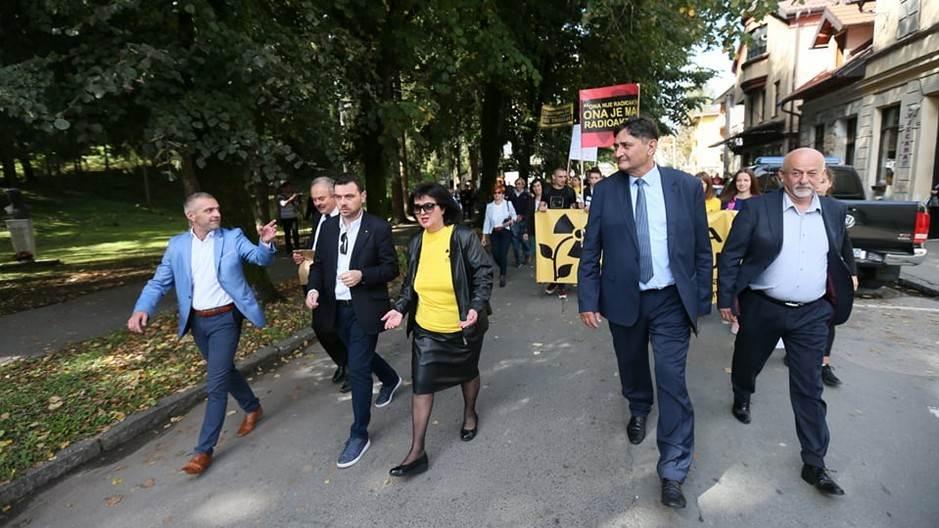 Protest, Novi Grad