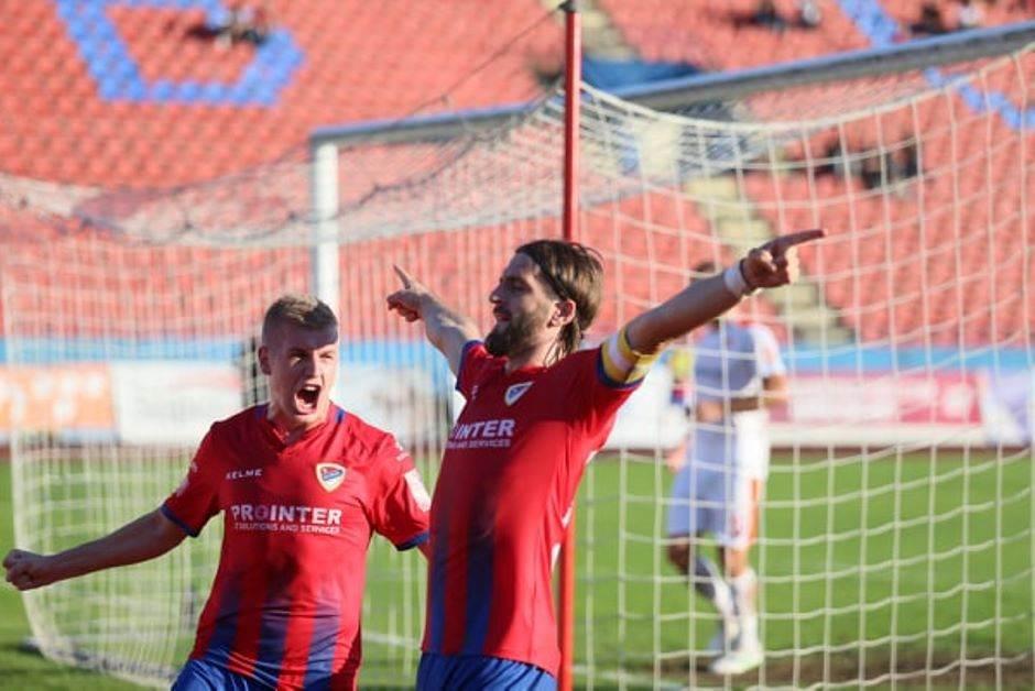 Vladan Danilović, Stojan Vranješ, FK Borac
