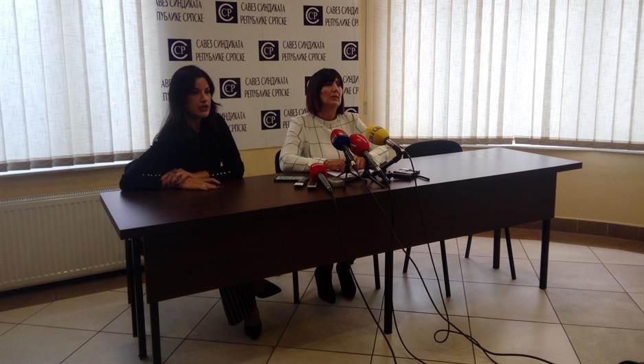 Ranka Mišić, Savez sindikata RS