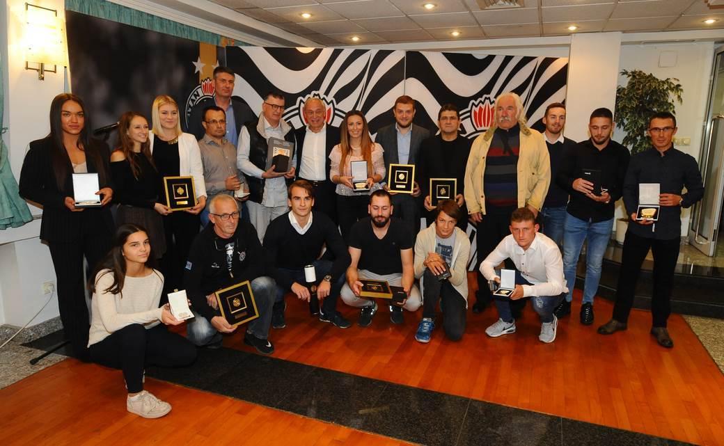 Partizan slavi, Vučelić podsjetio na osnivače