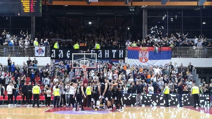 Slavlje košarkaša Partizana