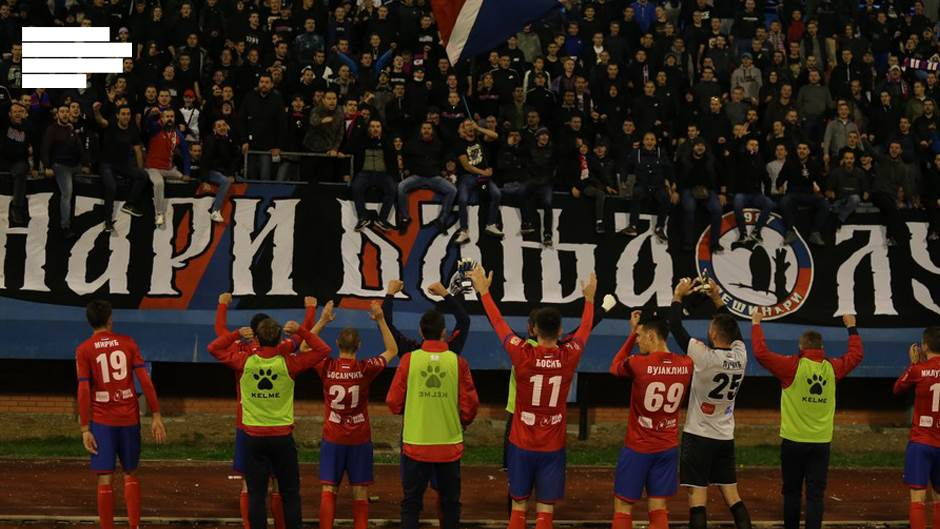 Borac - Željezničar 3:0