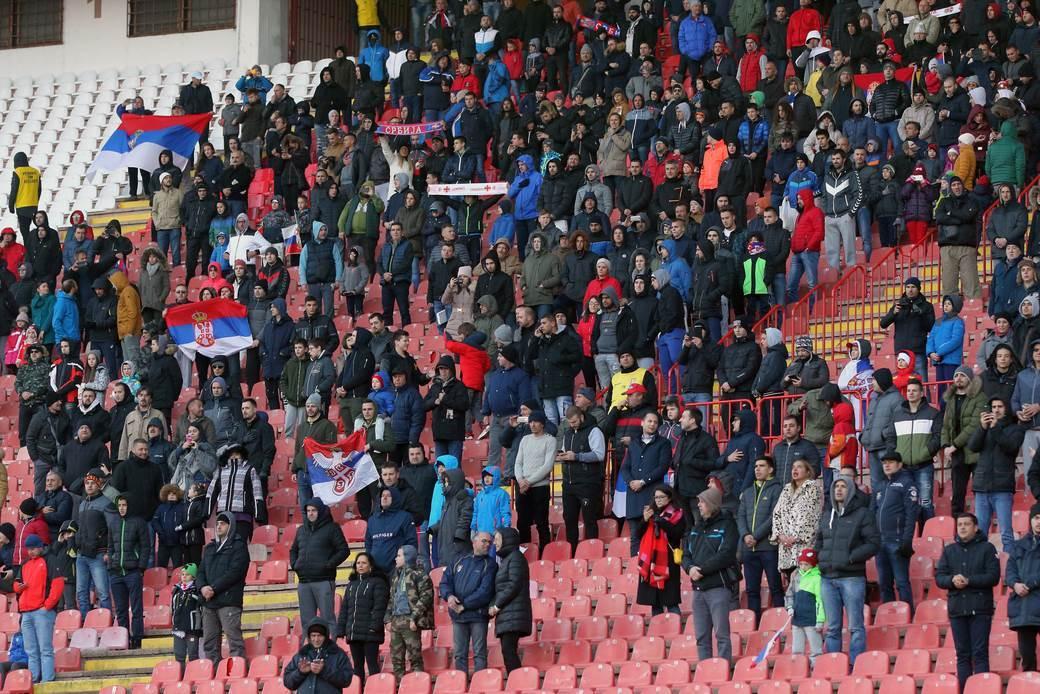 Srbija, navijači