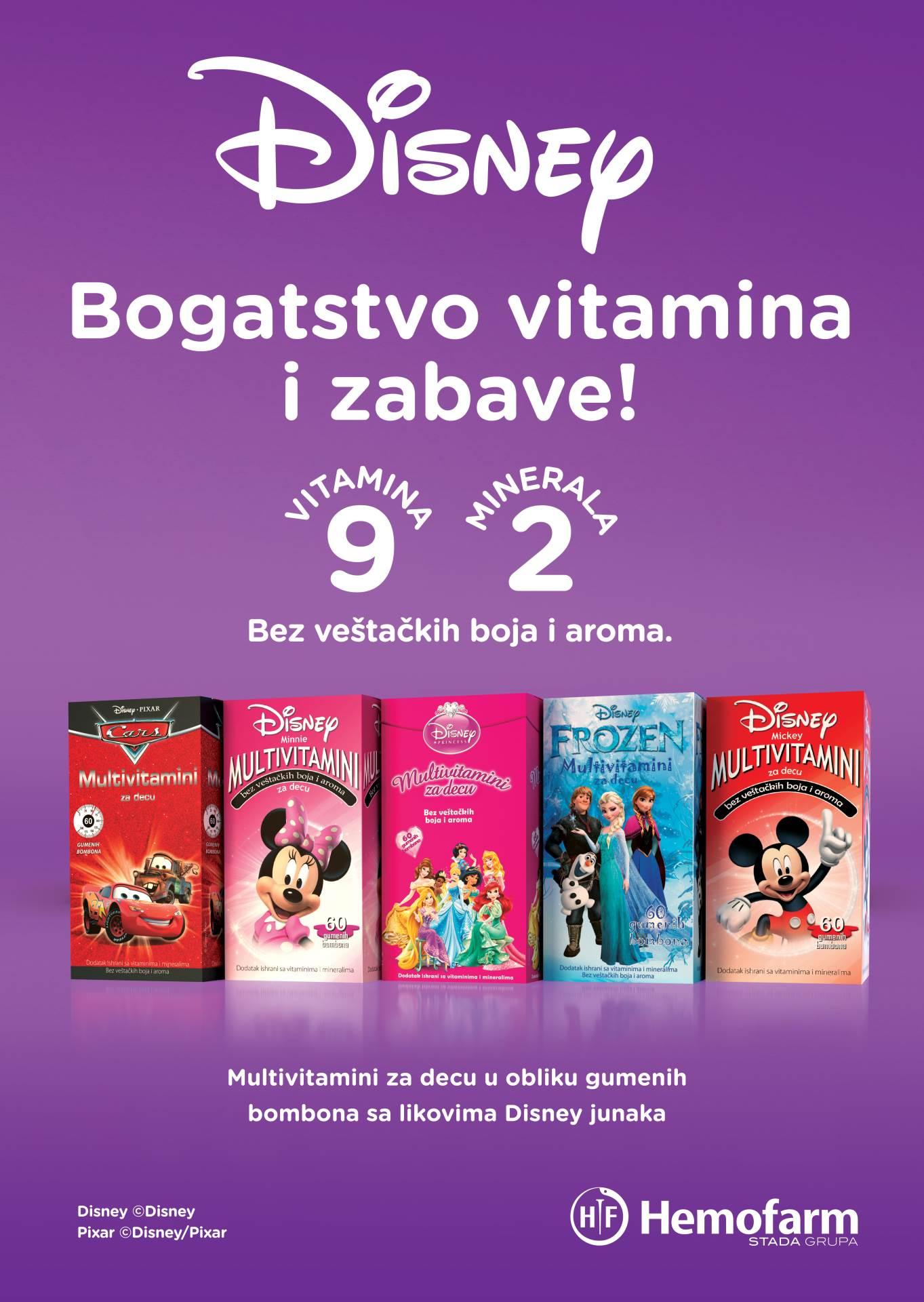 hemofarm, vitamini za djecu