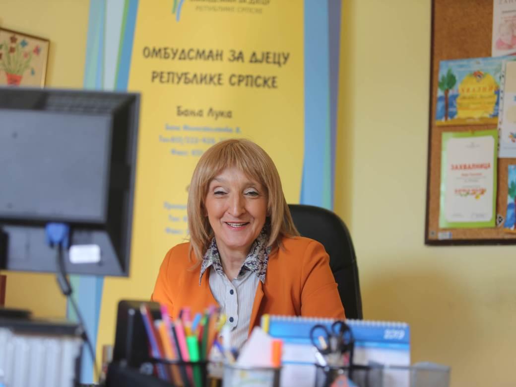 Dragica Radović, Ombudsman za djecu RS