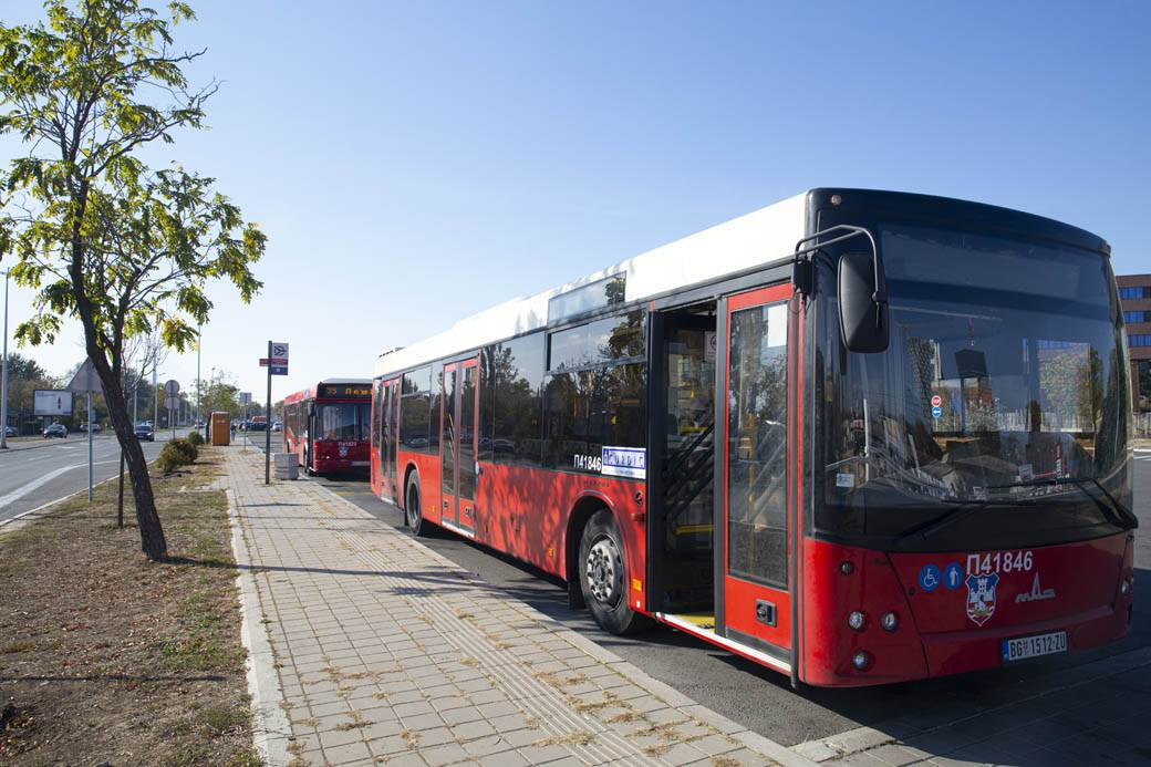 ljuba vozač autobusa autobus
