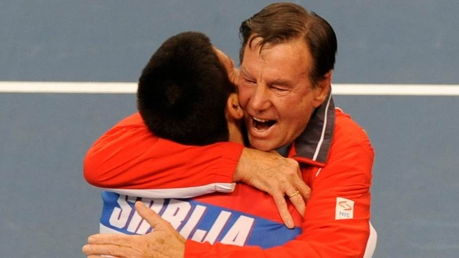 Novak Đoković, Nikola Pilić