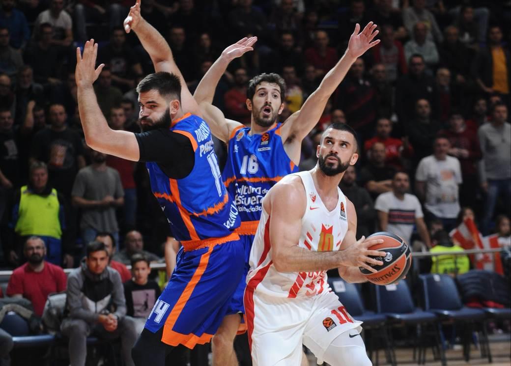 CRVENA ZVEZDA vs VALENCIA Beograd, 28.11.2019. foto: Nebojsa Parausic Kosarka, Crvena zvezda, Valensija xyz