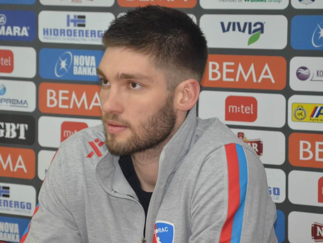 Bojan Rađenović, RK Borac
