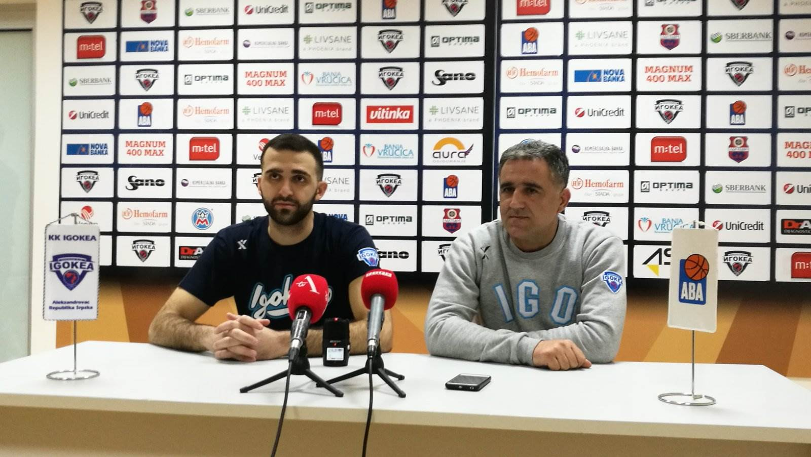 Milan Vulić i Dragan Bajić