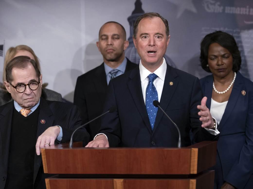 demokrate, senat, impičment