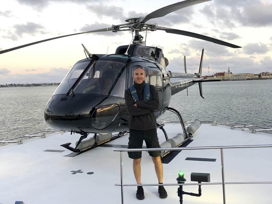 Pilot helikoptera Ara Zobajan